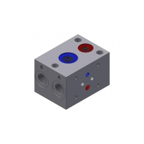 Плита для батарейного монтажа алюминиевая DUPLOMATIC MS S.p.a. ML31S, СЕТОР 03, 280 бар