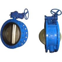 Затвор поворотный дисковый межфланцевый ABRA BUV-FL226 Ру16 Ду100 (PN16 DN100)