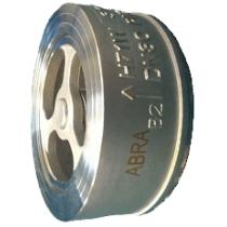 Обратный клапан пружинный межфланцевый ABRA D71 Ру25 Ду25 (PN25 DN25 )