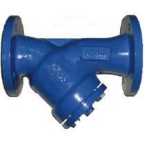 Фильтр сетчатый чугунный фланцевый ABRA YF-3016-DF Ру16 Ду500 (PN16 DN500 )