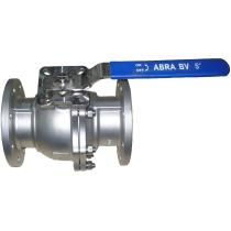 Кран шаровой фланцевый из нержавеющей стали ABRA BV41-Q41F-DIN-2G-065 Ру16 Ду65 (PN16 DN65)