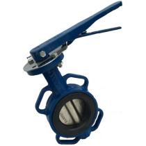 Затвор поворотный дисковый межфланцевый ABRA BUV-VF826 Ру16 Ду450BS (PN16 DN450)