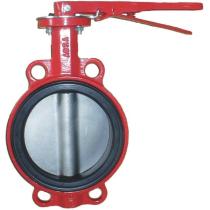 Затвор поворотный дисковый межфланцевый ABRA BUV-VF866D Ру16 Ду50R (PN16 DN50)