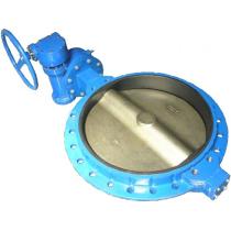 Затвор поворотный дисковый межфланцевый ABRA BUV-VF826 Ру16 Ду700 (PN16 DN700)