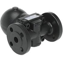 Воздухоотводчик автоматический поплавковый из углеродистой стали фланцевый ADCA AE20-21 Ду25 Ру40 (DN25 PN40)