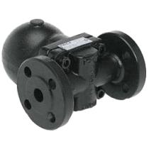 Воздухоотводчик автоматический поплавковый из углеродистой стали фланцевый ADCA AE32-17 Ду25 Ру40 (DN25 PN40)