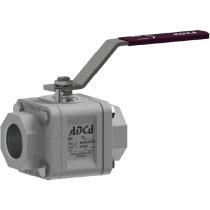 Кран шаровый из нержавеющей стали резьбовой ADCA M3i1 Ду15 Ру100 (DN15 PN100)