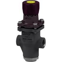 Клапан редукционный прямого действия из стали резьбовой ADCA PRV25/2S P0,14-1,7 Ру25 Ду1 (PN25 DN25 )