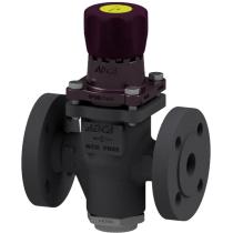 Клапан редукционный прямого действия из стали фланцевый ADCA PRV25/2S P3,5-8,6 Ру25 Ду25 (PN25 DN25 )