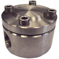 Конденсатоотводчик термостатический из нержавеющей стали резьбовой ADCA TH21SS Ру40 Ду1/2