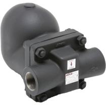 Конденсатоотводчик поплавковый из углеродистой стали резьбовой ADCA FLT32-4,5 Ру40 Ду1 1/2