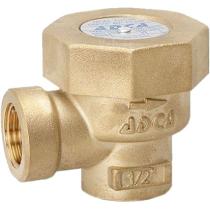 Конденсатоотводчик термостатический из латуни резьбовой ADCA TH13A Ру16 Ду1/2