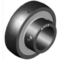 Высокотемпературный корпусной подшипник Beco UC209 BHTS ZZ GR CG 350°C