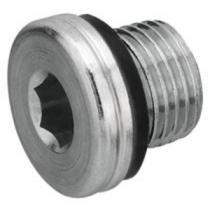 Заглушка с уплотнительной шайбой CAST S.p.A. 107601, G1/8, 400 бар