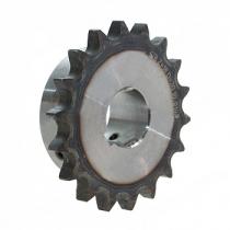 Звездочка со ступицей с калеными зубьями и с готовым отверстием для цепи Chiaravalli 08B-1 z=16 22 H7