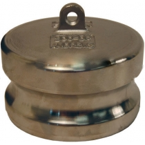 Заглушка для розетки типа DР из нержавеющей стали Dixon 200DPSS 2