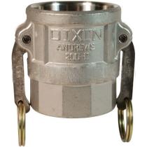 Розетка с внутренней резьбой типа D из нержавеющей стали Dixon 150DSSB 1,5