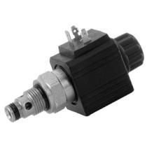 Распределитель гидравлический клапанного типа DUPLOMATIC MS S.p.a. KT08-2NO/10N-D00/CM, 2/2 НO, 350 бар, без катушки (тип С14)