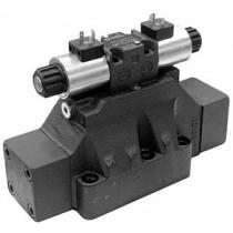 Распределитель гидравлический с пилотным электромагнитным управлением DUPLOMATIC MS S.p.a. E4P4-S1/D-EI/50N-D24K1