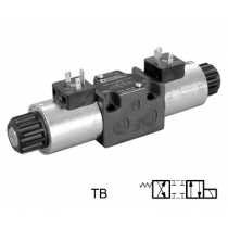 Распределитель гидравлический DUPLOMATIC MS S.p.a. DS3-TB/11N-D24K1, CETOP 03, 100 л/мин, 350 бар, с катушками постоянного тока