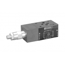 Клапан предохранительный модульный прямого действия DUPLOMATIC MS S.p.a. MCD4-SP/51N, CETOP 03, одиночный на магистрали P со сбросом в T