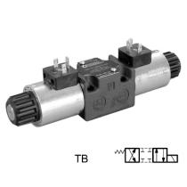 Распределитель гидравлический DUPLOMATIC MS S.p.a. DS3-TB/11N-D00, CETOP 03, 100 л/мин, 350 бар, под катушку постоянного тока