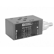 Клапан обратный с дросселем модульного исполнения DUPLOMATIC MS S.p.a. MVR-RS/P/50, CETOP 03, 350 бар