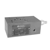 Клапан предохранительный модульный прямого действия DUPLOMATIC MS S.p.a. PRM5-DT210/10N, CETOP 05, двойной в каналах A и B со сбросом в T