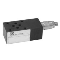 Клапан подпорный DUPLOMATIC MS S.p.a. PBM3-SB3/10N/K, CETOP 03