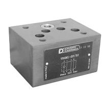 Клапан обратный DUPLOMATIC MS S.p.a. VR4M1-ST/50, СЕТОР 05, модульный монтаж, 320 бар, обратный клапан на магистрали T