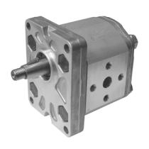 Насос гидравлический шестеренный с внешним зацеплением, передний DUPLOMATIC MS S.p.a. GP1F-0051R97F/20N