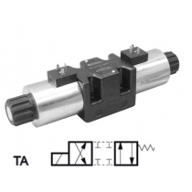 Распределитель гидравлический DUPLOMATIC MS S.p.a. DS5-TA/14N-D00, CETOP 05, 320 бар, под катушку постоянного тока
