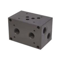 Плита для батарейного монтажа стальная DUPLOMATIC MS S.p.a. P4D-D3P/21_1561481, СЕТОР 3, порты сзади