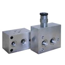 Плита под предохранительный клапан DUPLOMATIC MS S.p.a. VMP-CR22-FV-12-38_103703, под предохранительный клапан CR, CRQ