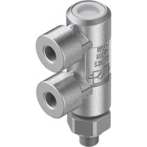 Управляемый обратный клапан Festo HGL-M5-B