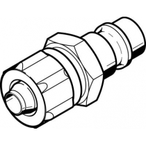 Быстроразъемный штекер Festo KS4-CK-6