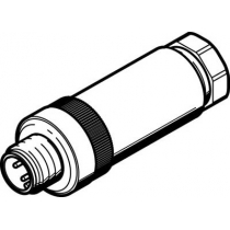 Штекер Festo NECU-S-M12G4-P2-IS