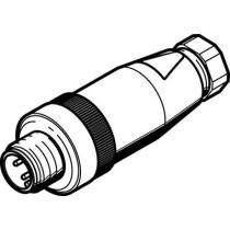 Штекер Festo NECU-S-M12G4-P1-IS
