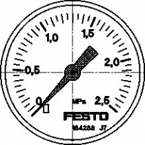 Манометр Festo MA-50-2,5-1/4-EN