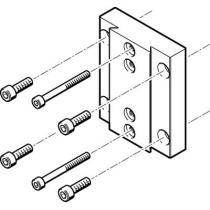 Монтажный набор для исполнительных механизмов Festo HMVA-DLA40