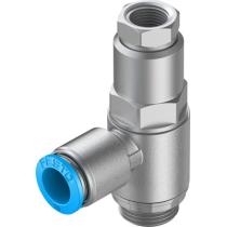 Управляемый обратный клапан Festo HGL-3/8-QS-10