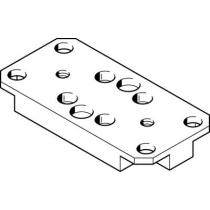 Адаптерная плита для стандартного параллельного захвата Festo HAPS-3
