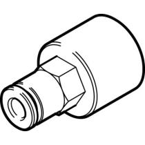Штуцер цанговый с внутренней резьбой Festo NPQH-D-G14F-Q8-P10