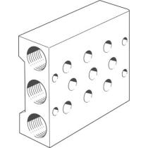 Плита для блочного монтажа Festo PRS-1/8-3-B