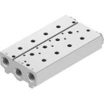 Плита для блочного монтажа Festo VABM-B10-25S-G38-3