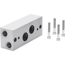 Угловая соединительная плита Festo NAW-1/4-1E-ISO