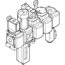 Блок подготовки воздуха, комбинация Festo MSB6-1/2:C3J1D1A1F3-WP