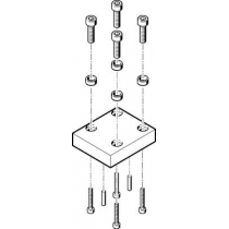 Адаптерная плита для параллельного захвата Festo HAPG-54