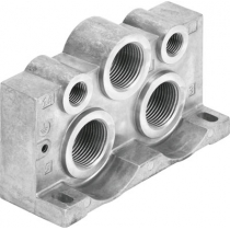 Торцевая плита Festo VABE-S1-2L-N34