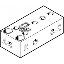 Монтажная плита Festo VABS-P12-S-M5-P3